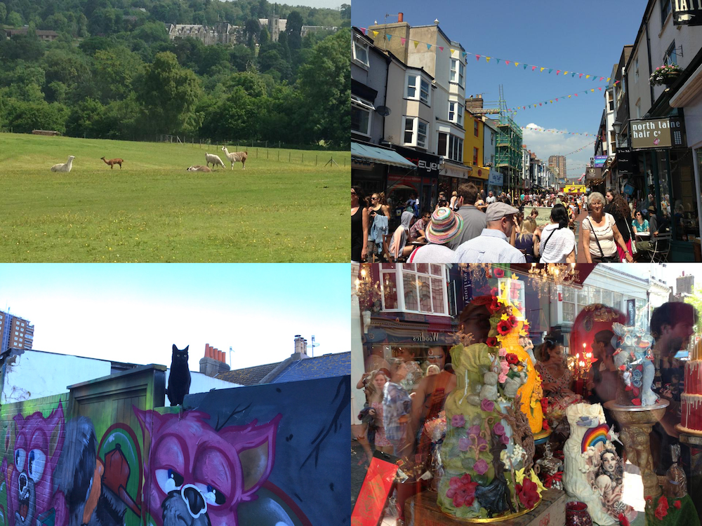 Eclectic things to do in Brighton